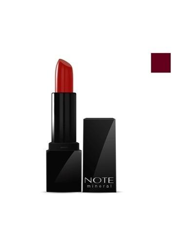 Note Note Mineral Semi Matte Lipstick 06 Berry Brown Ruj Bordo